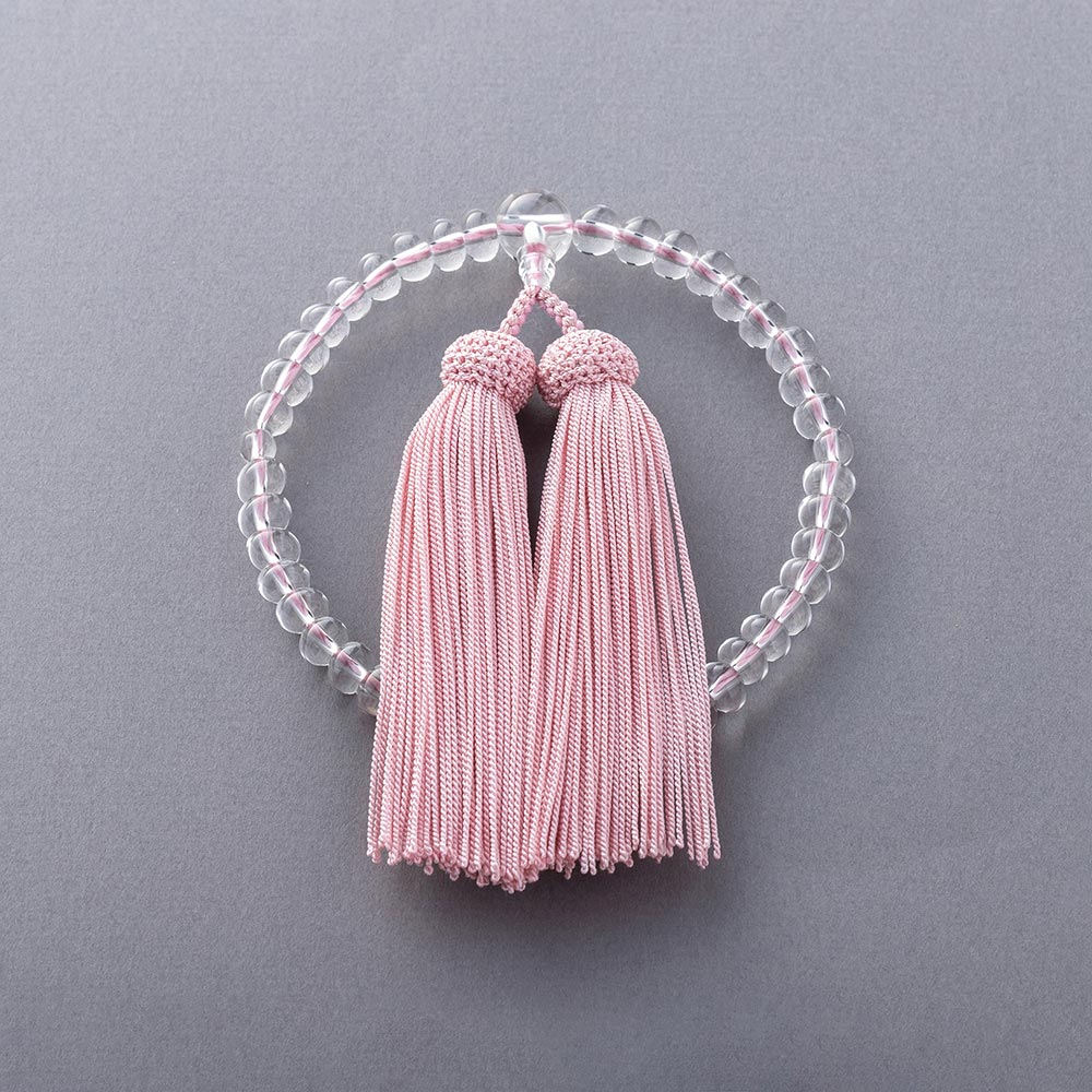 大日堂のお数珠/浅緋