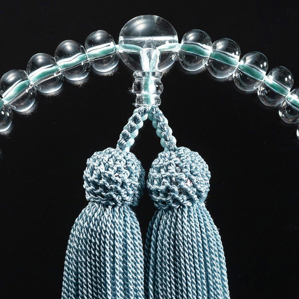 大日堂のお数珠/薄浅葱