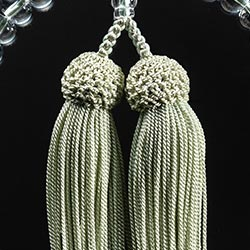 お数珠の色/白緑
