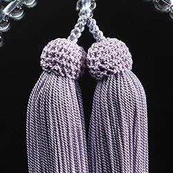 お数珠の色/薄藤