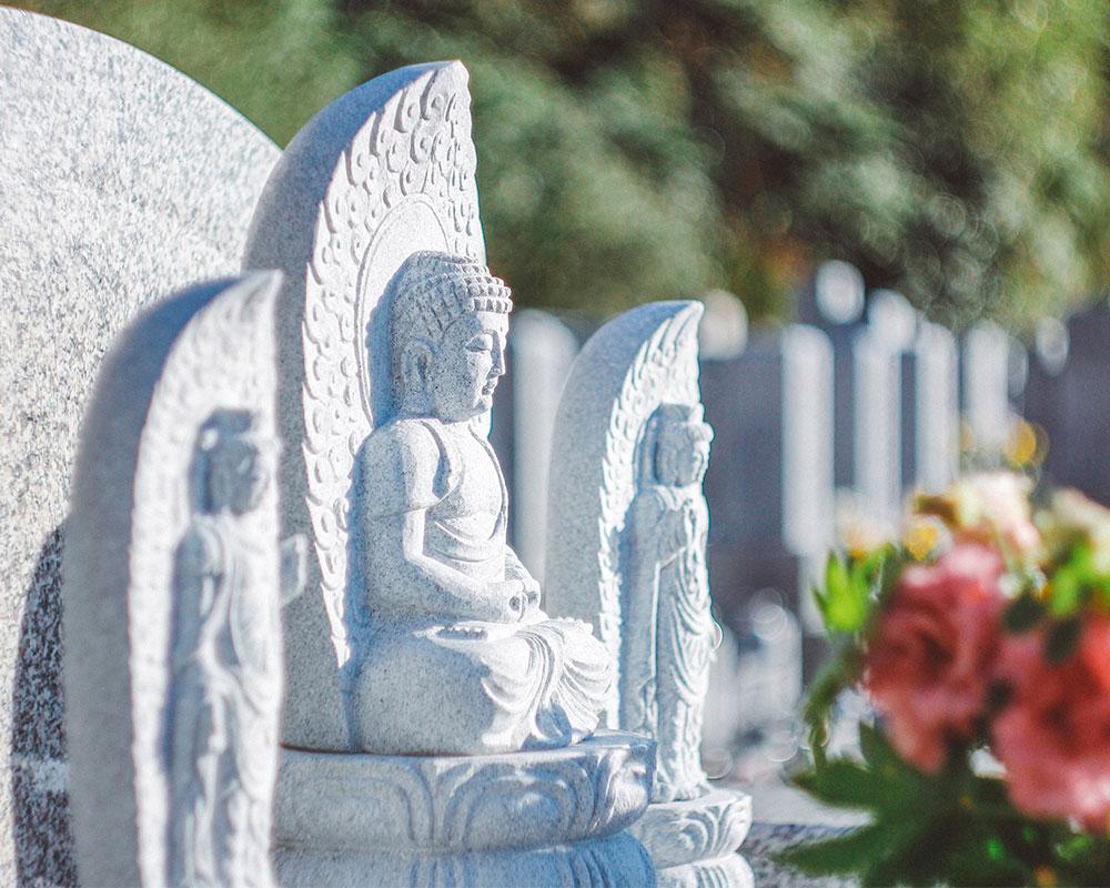 根の谷川墓苑の永代供養墓