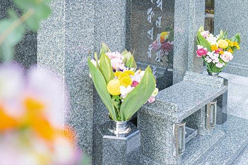 温品光霊苑の永代供養墓