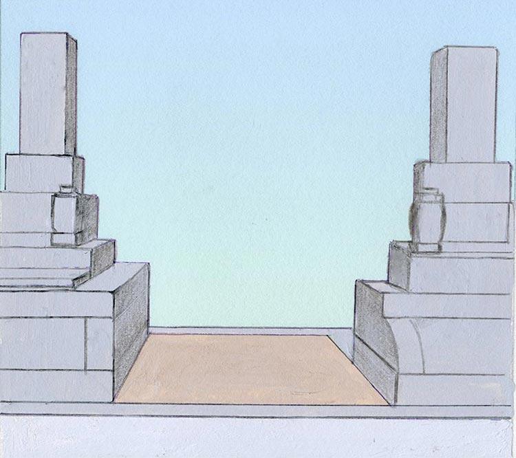 墓地の確認