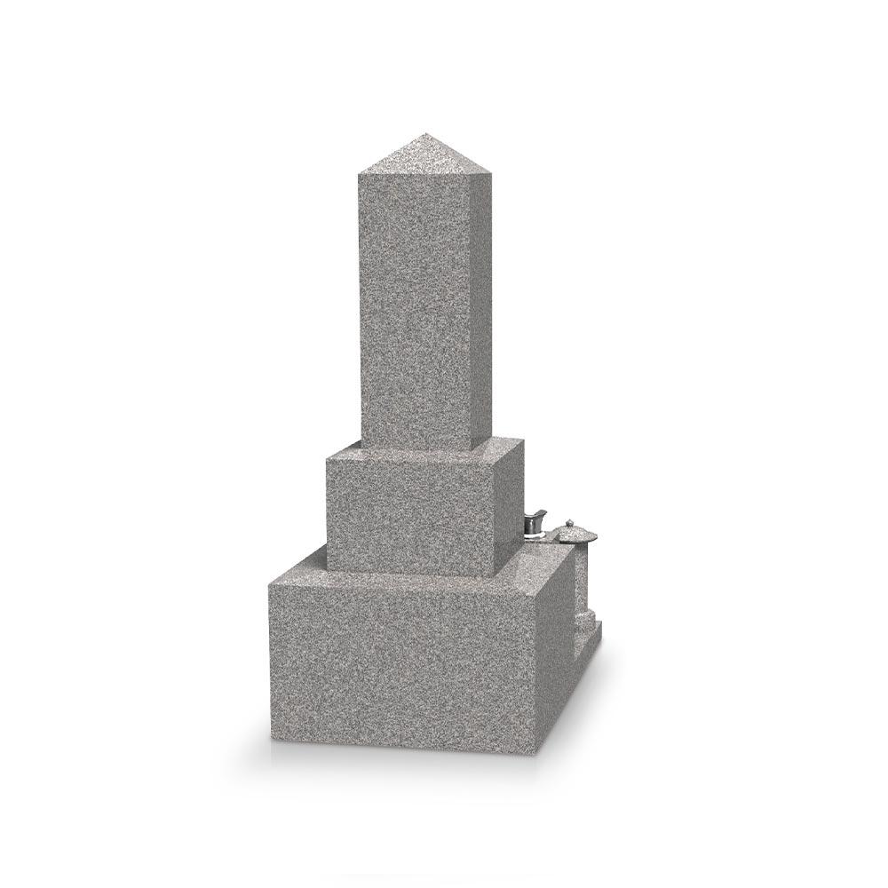 大日堂のお墓/神道墓二重台 背面