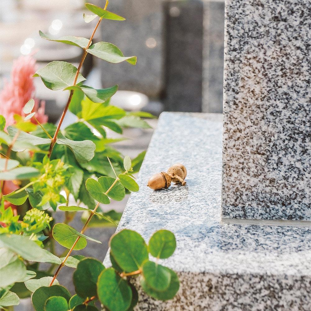 大日堂のお墓/和墓二重台のイメージ