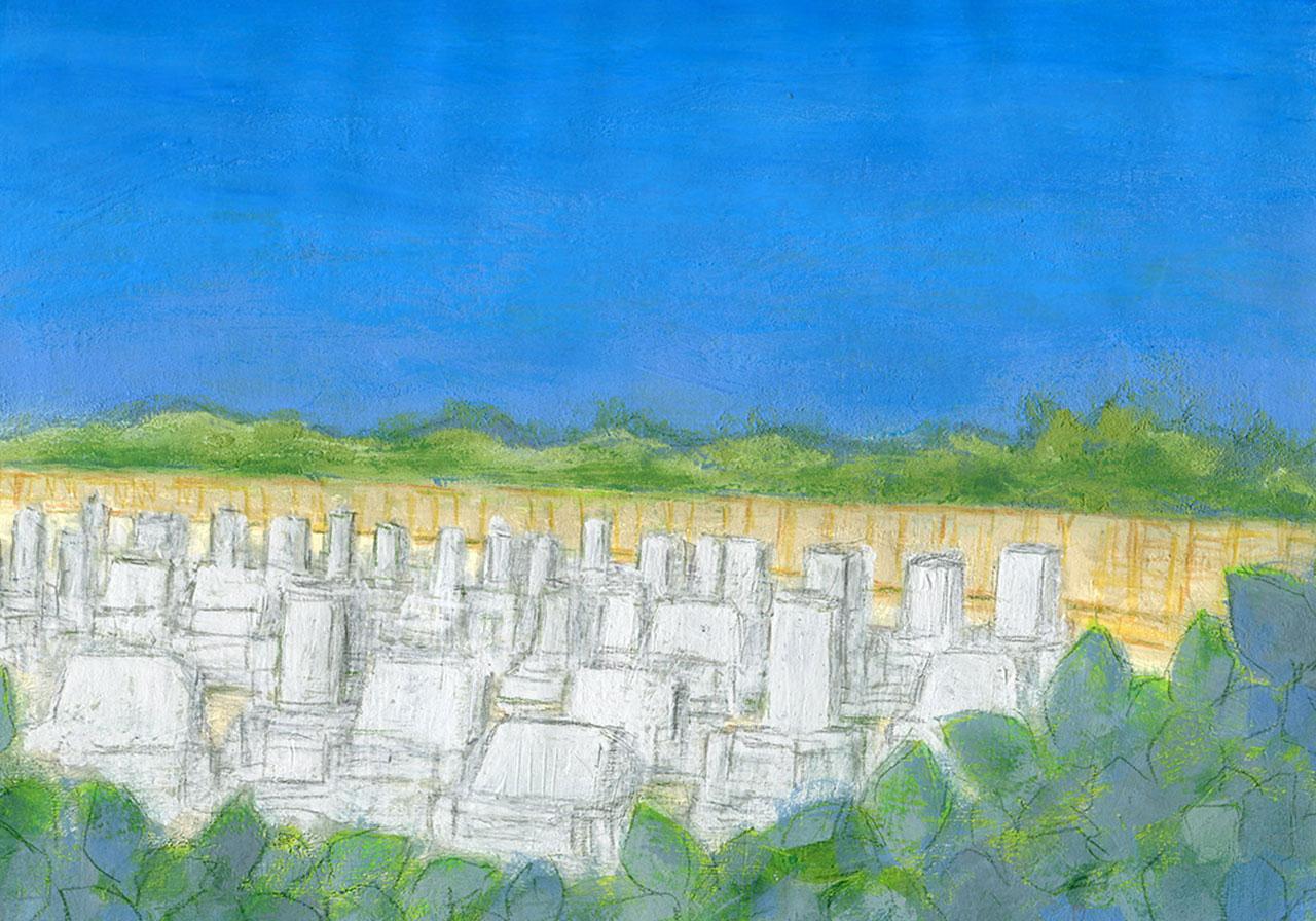 東広島市の墓地